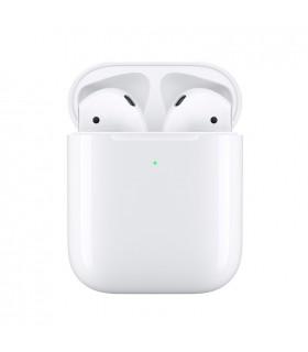 هدفون بیسیم دست دوم اپل مدل Airpods 2 همراه کیس شارژ بیسیم