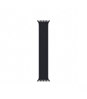 بند اپل واچ مدل Braided Solo Loop برای مدلهای ۳۸ و ۴۰ میلیمتر - رنگ مشکی سایز مدیوم مشابه اصلی