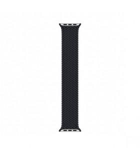 بند اپل واچ مدل Braided Solo Loop برای مدلهای ۴۲ و ۴۴ میلیمتر - رنگ مشکی سایز مدیوم مشابه اصلی