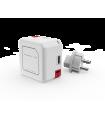 پاوربانک ۵۰۰۰ میلیآمپر allocacao مدل PowerUSB Portable رنگ قرمز