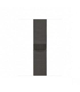 بند استیل اپل واچ مدل Milanese Loop رنگ خاکستری برای مدلهای ۳۸ و ۴۰ میلیمتر - مشابه اصلی