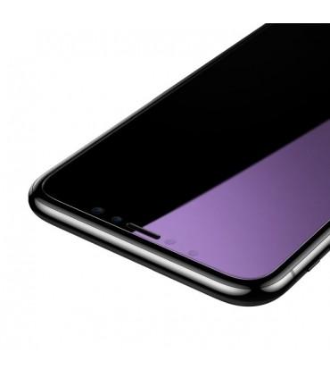 پک ۲ تایی گلس بیسوس مدل Baseus 0.15mm Anti-Blue Light Tempered Glass SGAPIPH61S-FC02 مناسب برای آیفون 11/XR
