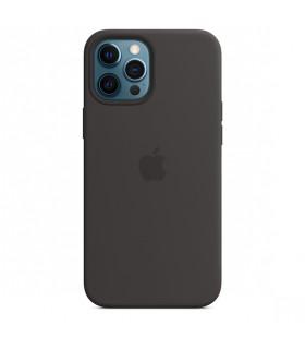 قاب سیلیکونی MagSafe آیفون ۱۲ پرو مکس رنگ مشکی | مشابه اصلی