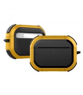 کیس محافظ ایرپادز پرو مدل Eggshell Defender رنگ زرد