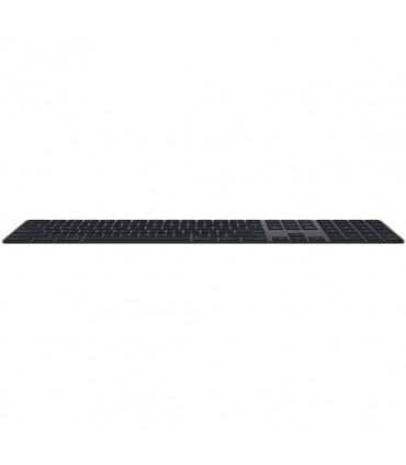 کیبورد بیسیم کامل اپل  دست دوم مدل Magic Keyboard with Numeric رنگ خاکستری