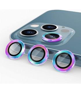 محافظ لنز دوربین گوشی  12pro هفت رنگ