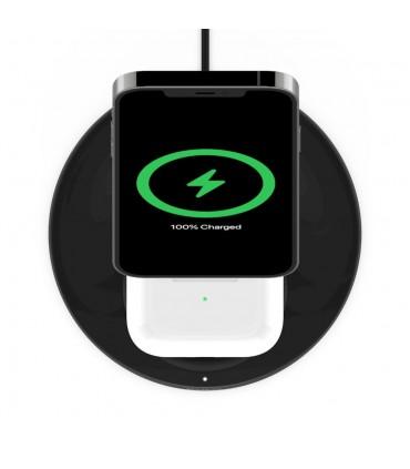شارژر بی سیم ۱۵ واتی ۲ در ۱ بلکین Belkin 2 in 1 15W Wireless Charger Stand