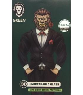 گلس شفاف نشکن گرین مدل 3D Unbreakable Glass مناسب برای گوشی12/12Pro