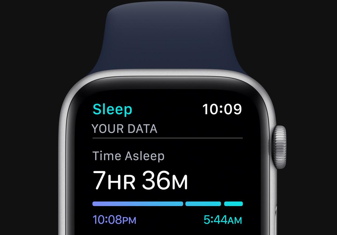 مانیتور خواب در apple watch 6
