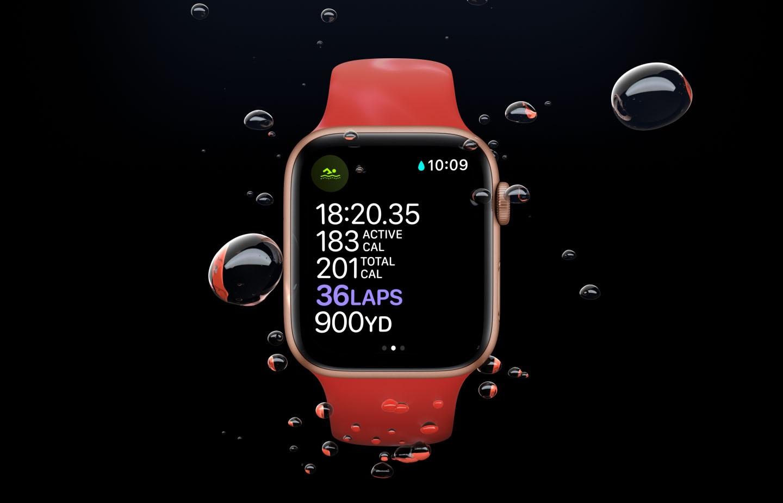 فیتنس و سلامت در اپل واچ سری 6