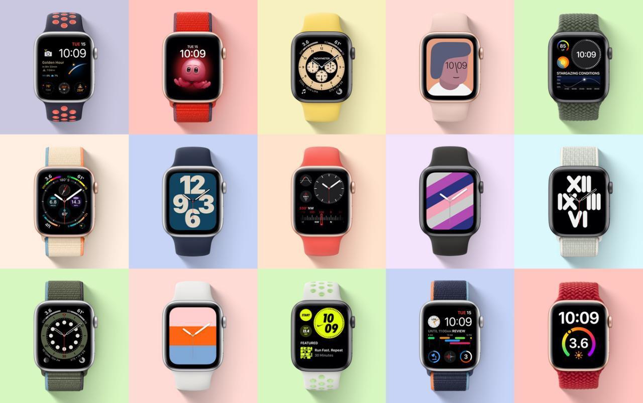 واچ فیس های مختلف apple watch se