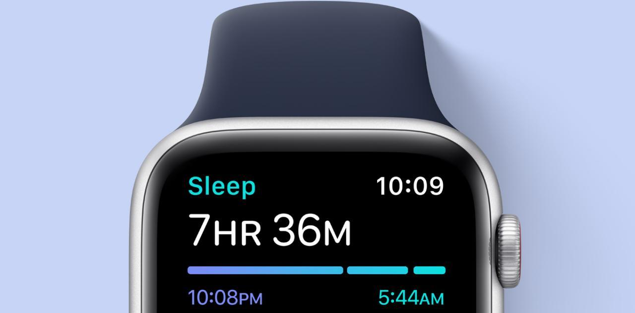 قابلیت sleep tracking در اپل واچ se