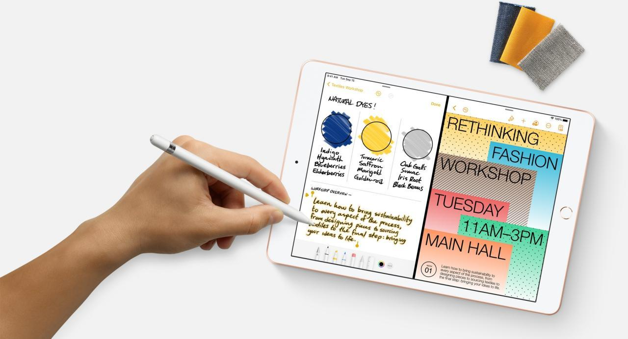 پشتیبانی آیپد ۲۰۲۰ از apple pencil