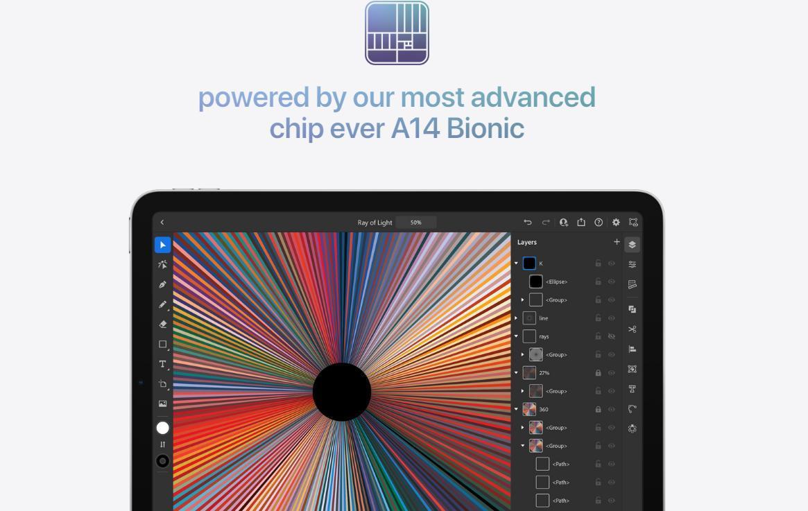 پردازنده قدرتمند آیپد ایر