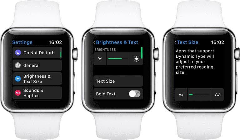 آموزش تغییر اندازه ی فونت گوشی در iOS